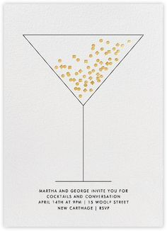Cocktail party invitations - Paperless Post
