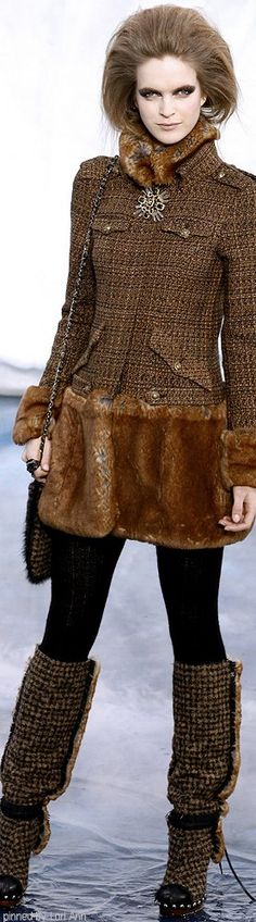 Chanel Fall 2010 | The House of Beccaria~