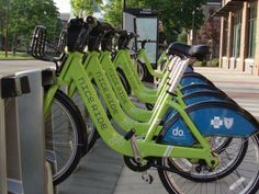 "The ""Nice-Ride"" program is very successful in the Twin Cities!"