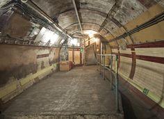 abandoned london underground