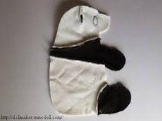 Resultado de imagen para molde de oso panda de peluche