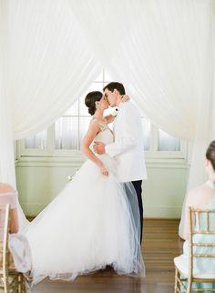 ceremony draping | Sawyer Baird