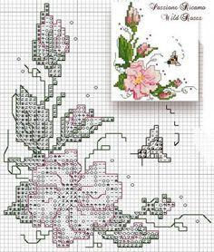 Cross stitch pattern.