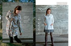 Mrs. Toad Sews: Women's Ottobre Autumn/Winter 2014 Its time to sew for Mom!