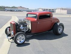 32 Ford 3 Window Hot Rod Coupe