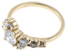 Diamond Cluster Ring Personalizations