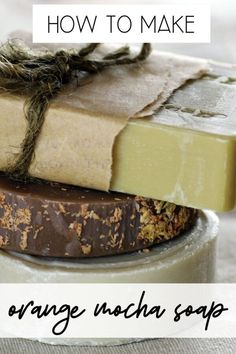This melt and pour coffee soap recipe works as a gardener's soap & a kitchen soap and is scented with a fragrance blend of coffee, orange and mocha. Soap Making Recipes, Homemade Soap Recipes, Exfoliate Skin, Deli News, Coffee Soap, Lip Balm Recipes, Sugar Scrub Recipe, Recipes For Beginners, Beauty Recipe