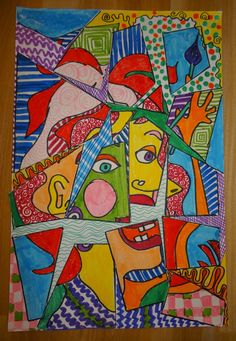 'Fractured Faces' - the Picasso Slip 'n Slide!