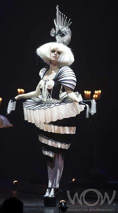 Black and White Avant Garde ~ WOW 2012: In The Op, Ling Lai Kit Ling, Hong Kong