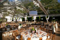 Hidden Pond Luxury Resort Wedding in Hiddenpond Wedding in Kennebunkport, Maine Tent Wedding, Wedding Rentals, Wedding Reception Decorations, Table Decorations, Clear Tent, Top Tents, Everything Is Possible, Event Decor, Pond