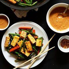 Veggie Tofu Stir Fry | Minimalist Baker Recipes