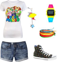 """""""Super N"""" by tfdennis on Polyvore"""