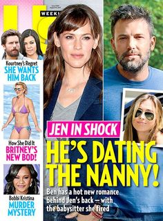 Ben Affleck and Jennifer Garner announced their divorce less than a month ago, but Ben has already moved on – and is dating their nanny, Christine Ouzounian