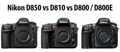 In this Nikon D850 vs D810 vs D800 / D800E comparison article, I will go through all the differences in specifications between these DSLR cameras and talk about what has been added, changed or improved with each generation. While both Nikon D810 and D800 / D800E cameras have been very popular among many enthusiasts and professionals for the past few years, the Nikon D850 is clearly a huge step up in many ways for the D8x0 line of cameras. It is the first high-resolution Nikon DSLR t...
