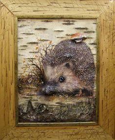 Герасимов Владимир. Береста (5) Birch Bark Crafts, Wooden Picture Frames, Folk Embroidery, Frame Crafts, Nature Crafts, Tree Art, Mixed Media Art, Painting On Wood, Wood Art