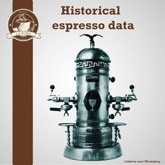 In 1901, thanks to the industrial revolution, the first espresso coffee machine was born in Europe. And in 1905, this machine was patented by Desiderio Pavoni, the first to start producing this machine.#cafelanubia #miami #florida #taste#Italian #espresso #wonderful #coffee#coffeecup #cupofcoffee #coffeemug #history