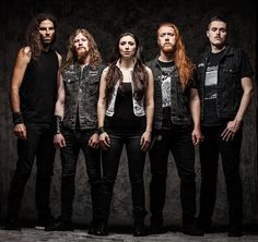 UNLEASH THE ARCHERS.   Power/Melodic Death Metal from Canada