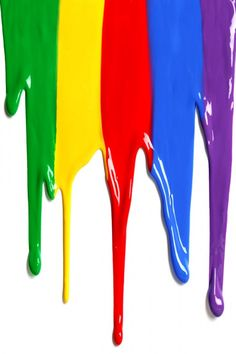 Dripping Colorful Paint iPhone 5(s) Wallpaper >>> Click for original size <<<