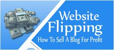 Selling your blog, it's one thing which is currently gaining momentum in recent years and in World-wide-web lingo, it is known as web site flipping. It is a fantastic organization simply because as a seller, you can get a tidy profit and for the buyer, they're able to acquire an established web site that brings them excellent income without having to construct it from scratch. Nonetheless, not just about every web-site can be sold.