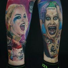 Joker and Harley Quinn Tattoo Idea