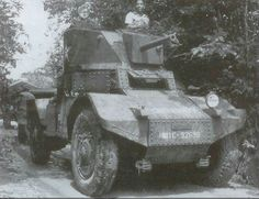 French Panhard armored car, Cambodia 1952