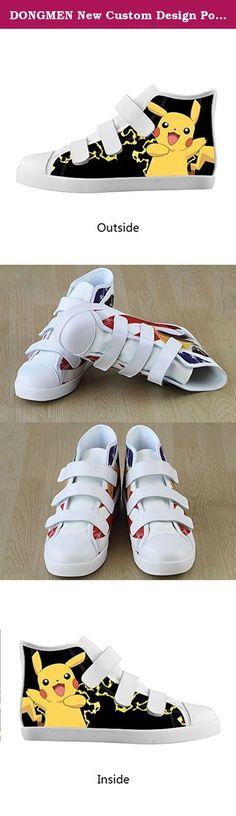 DONGMEN New Custom Design Pokemon Pikachu Boy/Girl Kids Canvas Shoes Velcro High Top Breathable Sneakers. Size: EUR32 = US1 = 208.46mm = 8.21inch EUR33.5 = US2 = 216.92mm = 8.54inch EUR35 = US3= 225.38mm = 8.88inch EUR36 = US4 = 233.84mm =9.21inch EUR37.5 = US5 = 242.3mm = 9.54inch The delivery time is amazon default time. In general, Our delivery time is 7-15 days not need one month.if you want more faster logistics, you can choose DHL. the delivery time is 5-7 days.and you need…