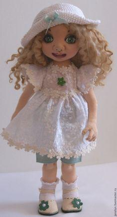 Ксюша - текстильная кукла ручной работы Boudoir, Elsa, Creepy, Temple, Harajuku, German, Victorian, French, Antique