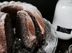 MAKOVÁ BÁBOVKA, bez lepku, bez cukru - olej, kokosový cukr, banány, pohanková mouka, prdopeč, mák + (citronová) poleva...