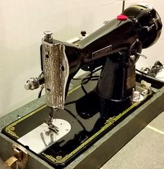 It's a Precision Deluxe Dressmaker, made in Japan in the 1950s.