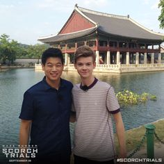 Thomas Brodie-Sangster & Ki Hong Lee gear up for The Scorch Trials in Seoul. Who will you enter The Scorch with?MAZE RUNNER: THE SCORCH TRIALS   Official Movie Site   2015