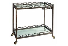 Nicolette Bar Cart - From The Home Deco Discovery Community at www.DecoandBloom.com