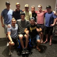 Broncos survivors of have reunited for a trip to the NHL Awards in Vegas on Wednesday night. Nhl Awards, Hockey Pictures, Ice Hockey, Broncos, Vegas, Strong, Sports, Wednesday, Canada