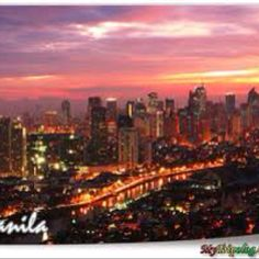 MANILA, where I was born...