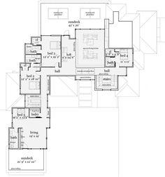Plan 44106TD  Modern Living  Modern Style HomesHouse Floor PlansModerno House Plan   Luxury houses  House and Modern. Ultra Modern Home Floor Plans. Home Design Ideas