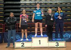 Grande ritorno di Alice Bisaccioni nel tennis tavolo, è subito trionfo a La Spezia!