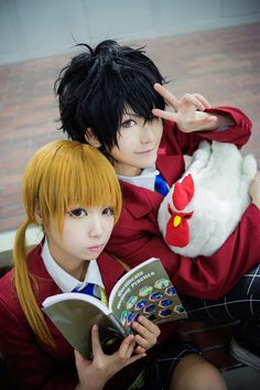 Tonari no Kaibutsu-kun cosplay, so cute ^^