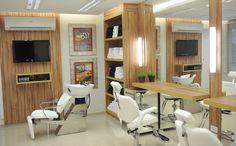 ???????????????????????????????????? Beauty Salon Decor, Beauty Salon Design, Showroom Design, Interior Design, Design Design, Parlour Design, Small Salon, Home Salon, Nail Salon And Spa