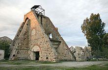 Linares (Jaén) - Ruínas del pozo de San Vicente en las minas de San Miguel.