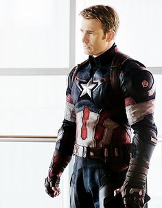 Chris Evans or maybe a Dorito the jury is still out on this one