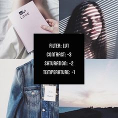 Vsco Photography, Photography Filters, Photography Editing, Digital Photography, Instagram Blog, Story Instagram, Lightroom, Photoshop, Tumblr Filters