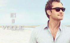 Vogue Eyewear for Men 2013 - Jude Law