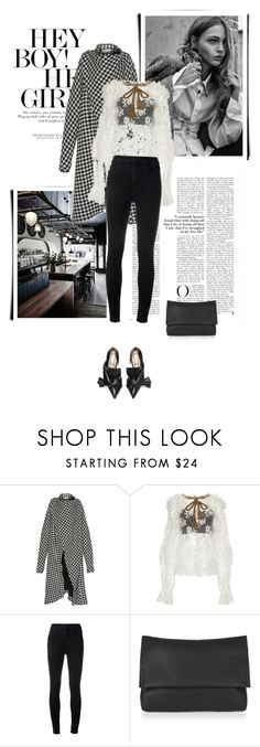 """Без названия #7384"" by bliznec ❤ liked on Polyvore featuring Wanda Nylon, Dolce&Gabbana, J Brand and Topshop"