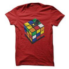Tee-shirt de cube RUBIK CUBE T-SHIRT.rubiks rubiks cube