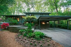 mid-century modern homes | mid century modern garden design Mid century modern garden design