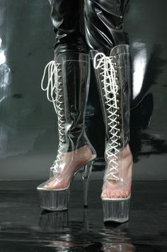1000 Images About Sockless Clear Boots On Pinterest