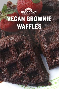Vegan Brownie Waffles Recipe