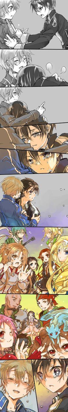 Art Manga, Anime Manga, Sao Characters, Kirito Asuna, Sword Art Online Kirito, Black Butler Kuroshitsuji, Anime Life, Anime Artwork, Gun Gale Online