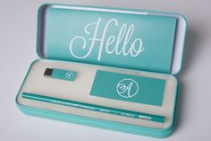 Self Promo Pack by Alex Hines, via Behance- I like the delicate green and white combination it has a very calm feel about it. I also like the idea of displaying it as a pencil case think it gives something different.