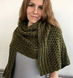 EASY Crochet Shawl PATTERN Womens Scarf Pattern Crochet