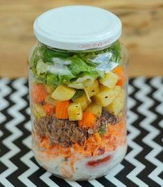Salada no pote: descubra a maneira correta de montar a refeição - Casa e Jardim | Receitas